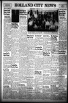 Holland City News, Volume 81, Number 18: May 1, 1952