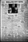 Holland City News, Volume 81, Number 21: May 22, 1952