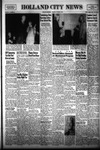 Holland City News, Volume 81, Number 40: October 2, 1952 by Holland City News