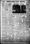 Holland City News, Volume 81, Number 44: October 30, 1952