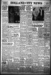 Holland City News, Volume 81, Number 51: December 18, 1952