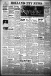 Holland City News, Volume 82, Number 37: September 10, 1953