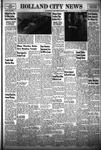 Holland City News, Volume 83, Number 3: January 21, 1954