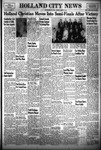 Holland City News, Volume 83, Number 11: March 18, 1954