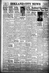 Holland City News, Volume 83, Number 13: April 1, 1954