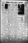 Holland City News, Volume 83, Number 14: April 8, 1954