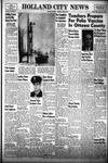 Holland City News, Volume 83, Number 15: April 15, 1954