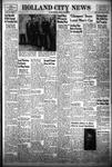 Holland City News, Volume 83, Number 16: April 22, 1954