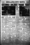 Holland City News, Volume 83, Number 19: May 13, 1954