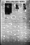 Holland City News, Volume 83, Number 21: May 27, 1954