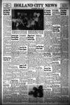 Holland City News, Volume 83, Number 26: July 1, 1954