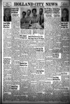 Holland City News, Volume 83, Number 33: August 19, 1954