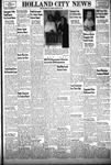 Holland City News, Volume 83, Number 43: October 28, 1954