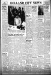 Holland City News, Volume 83, Number 44: November 4, 1954 by Holland City News