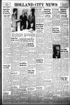 Holland City News, Volume 83, Number 45: November 11, 1954