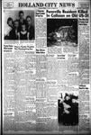 Holland City News, Volume 83, Number 47: November 25, 1954 by Holland City News