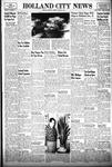 Holland City News, Volume 84, Number 1: January 6, 1955
