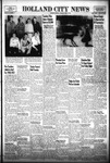 Holland City News, Volume 85, Number 15: April 12, 1956