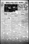 Holland City News, Volume 85, Number 17: April 26, 1956