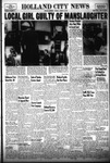 Holland City News, Volume 85, Number 43: October 25, 1956 by Holland City News