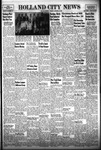 Holland City News, Volume 85, Number 46: November 15, 1956 by Holland City News