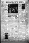 Holland City News, Volume 85, Number 48: November 29, 1956 by Holland City News