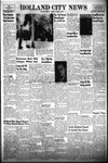 Holland City News, Volume 86, Number 2: January 10, 1957