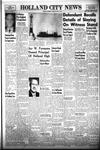 Holland City News, Volume 86, Number 15: April 11, 1957