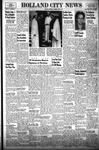 Holland City News, Volume 86, Number 23: June 6, 1957