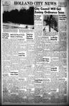 Holland City News, Volume 86, Number 27: July 4, 1957