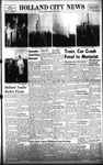 Holland City News, Volume 87, Number 11: March 13, 1958