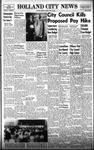 Holland City News, Volume 87, Number 16: April 17, 1958