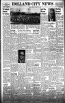 Holland City News, Volume 87, Number 18: May 1, 1958