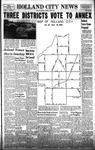 Holland City News, Volume 87, Number 23: June 5, 1958