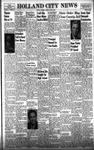 Holland City News, Volume 87, Number 24: June 12, 1958