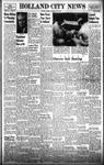 Holland City News, Volume 87, Number 27: July 3, 1958
