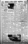 Holland City News, Volume 87, Number 29: July 17, 1958