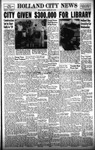 Holland City News, Volume 87, Number 30: July 24, 1958