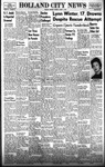 Holland City News, Volume 87, Number 32: August 7, 1958 by Holland City News