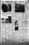 Holland City News, Volume 87, Number 37: September 11, 1958