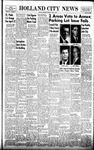 Holland City News, Volume 88, Number 15: April 9, 1959
