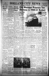 Holland City News, Volume 89, Number 14: April 7, 1960