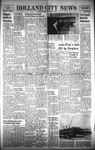 Holland City News, Volume 89, Number 21: May 26, 1960