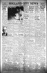 Holland City News, Volume 89, Number 29: July 21, 1960