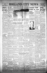 Holland City News, Volume 89, Number 39: September 29, 1960