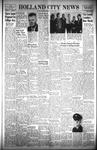 Holland City News, Volume 89, Number 40: October 6, 1960