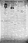 Holland City News, Volume 89, Number 48: December 1, 1960