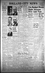 Holland City News, Volume 90, Number 14: April 6, 1961
