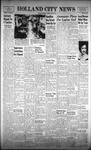 Holland City News, Volume 90, Number 15: April 13, 1961
