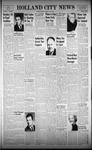 Holland City News, Volume 91, Number 23: June 7, 1962